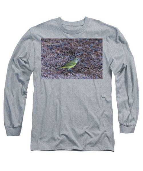 Orange-crowned Warbler Long Sleeve T-Shirt