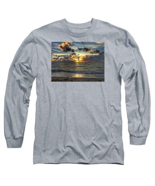 Orange Glow Long Sleeve T-Shirt