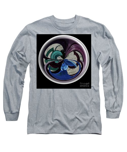 Orb Lineup Long Sleeve T-Shirt by Judy Wolinsky