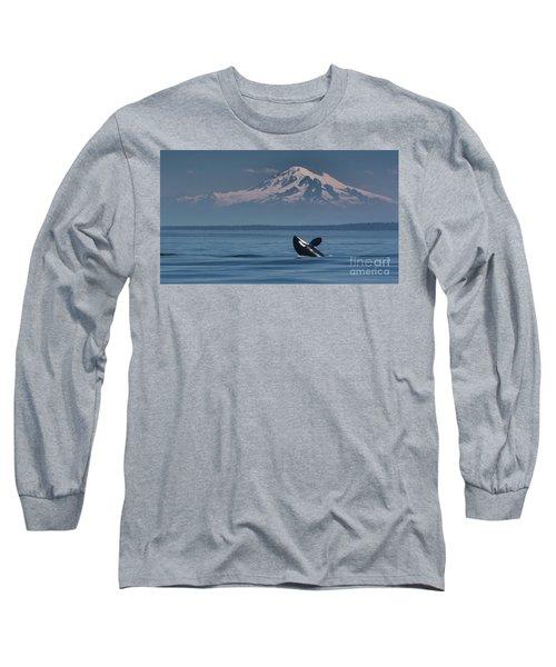 Orca - Mt. Baker Long Sleeve T-Shirt