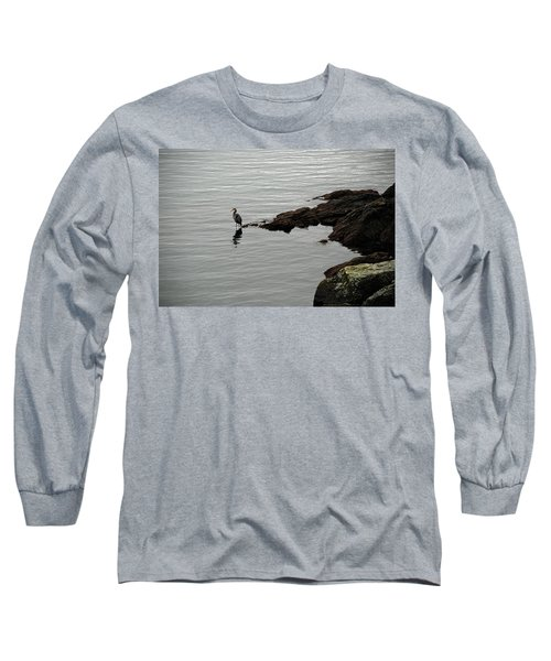 Orcas Island Bird  Long Sleeve T-Shirt