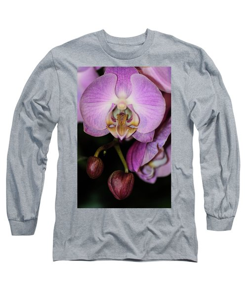 Orchid Life Long Sleeve T-Shirt