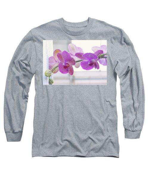 Orchid Spray Long Sleeve T-Shirt