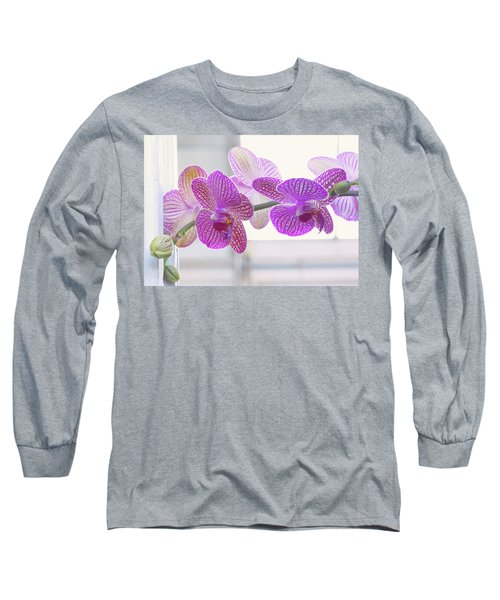 Orchid Spray Long Sleeve T-Shirt