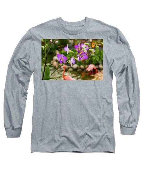 Orchids In Paradise Long Sleeve T-Shirt