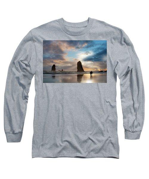Oregon Coastine Long Sleeve T-Shirt