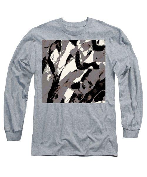 Organic No 2 Abstract Long Sleeve T-Shirt