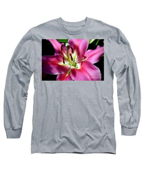 Oriental Trumpet Lily Long Sleeve T-Shirt