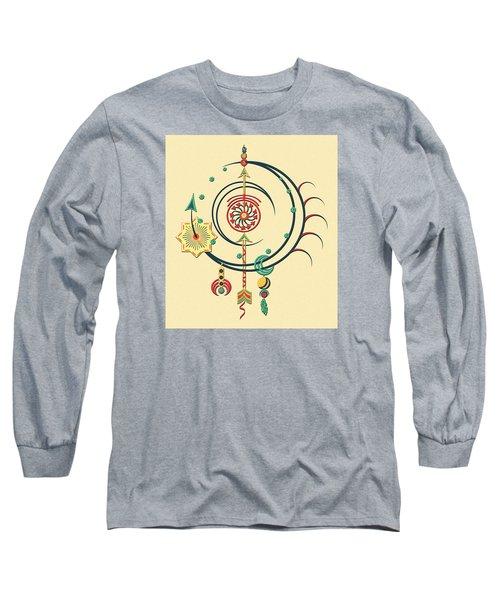 Ornament Variation Three Long Sleeve T-Shirt