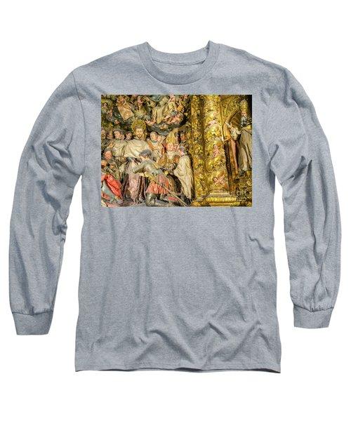 Ornate Gold Guilded Altar Long Sleeve T-Shirt