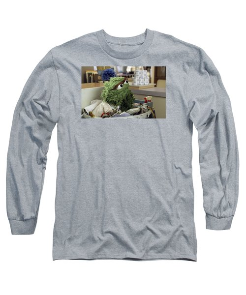Oscar The Grouch Long Sleeve T-Shirt