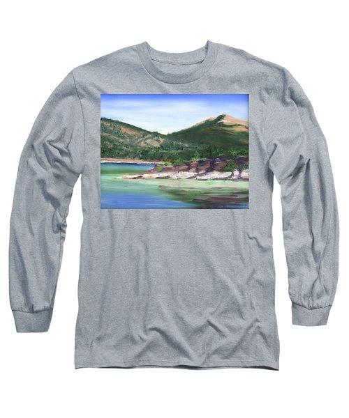 Osprey Island Flaming Gorge Long Sleeve T-Shirt