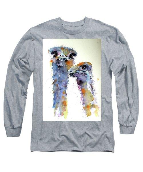 Ostriches Long Sleeve T-Shirt