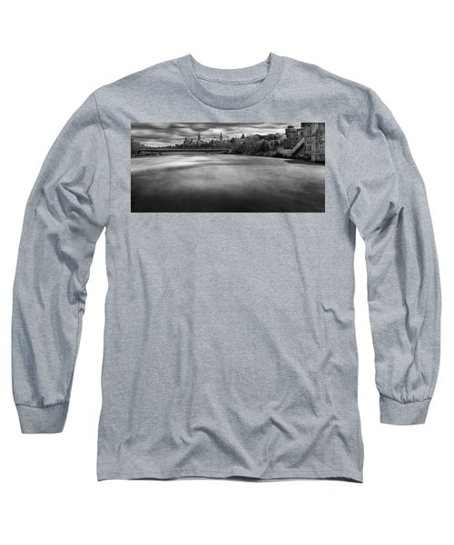 Ottawa Spring Flood Long Sleeve T-Shirt