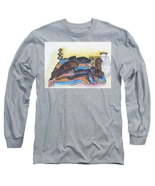 Our Bed Now Long Sleeve T-Shirt