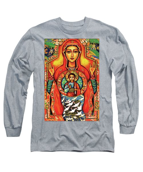 Our Lady Of The Sign Long Sleeve T-Shirt
