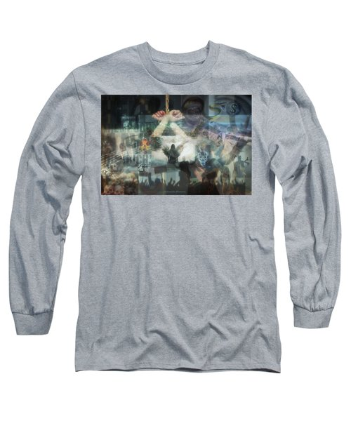 Our Monetary System  Long Sleeve T-Shirt by Eskemida Pictures