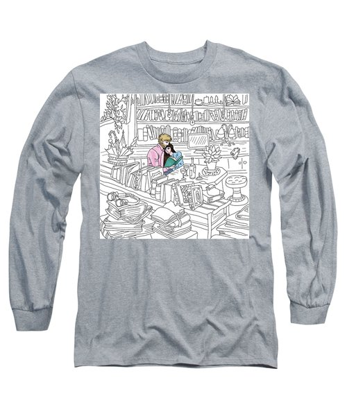Our Place Long Sleeve T-Shirt by Smokini Graphics