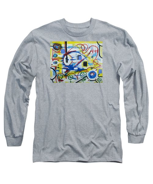 Our World Long Sleeve T-Shirt by Jose Rojas