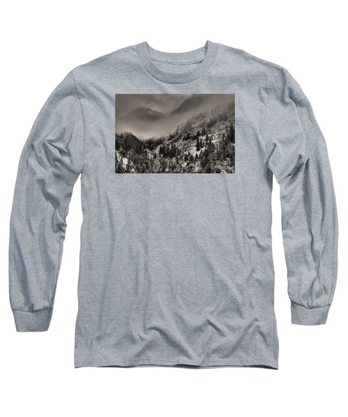 Ouray In Chinese Brush IIi Long Sleeve T-Shirt by William Fields