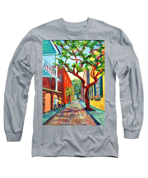 Out And About Long Sleeve T-Shirt by Dorothy Allston Rogers