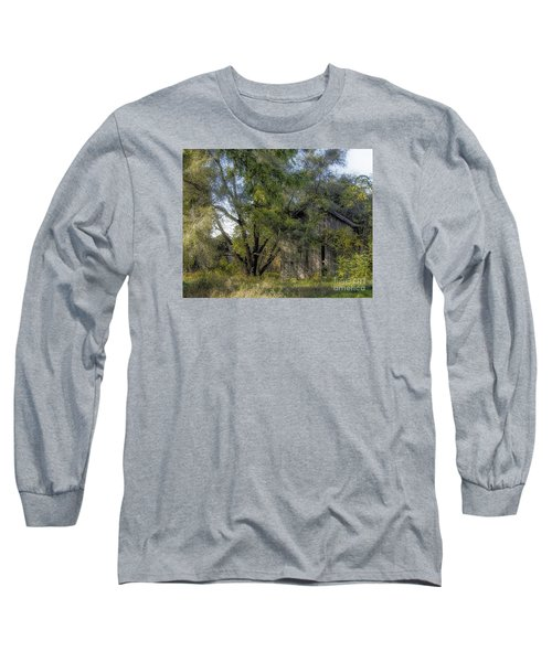 Long Sleeve T-Shirt featuring the photograph Out In The Back 40 by JRP Photography
