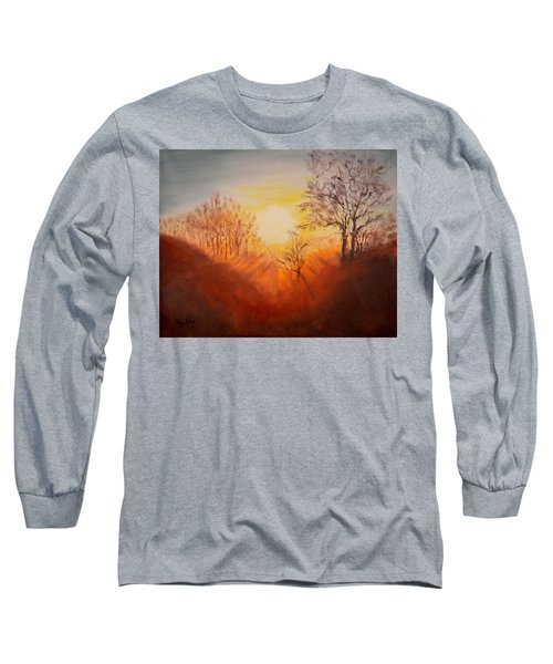 Out Of The Winter Morning Mists - 2 Long Sleeve T-Shirt