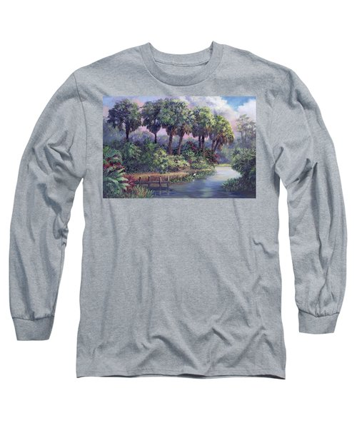 Out On The Dock Long Sleeve T-Shirt