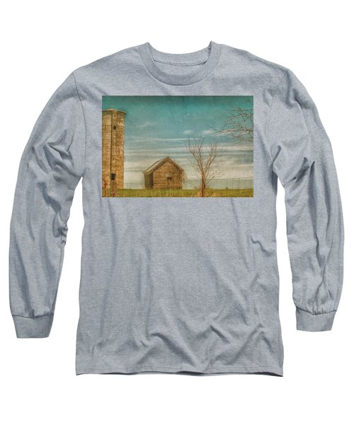 Out On The Farm Long Sleeve T-Shirt by Pamela Williams