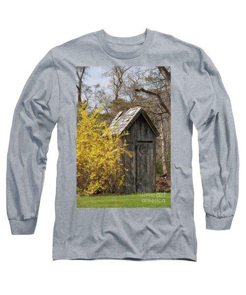 Outdoor Plumbing Long Sleeve T-Shirt by Nicki McManus