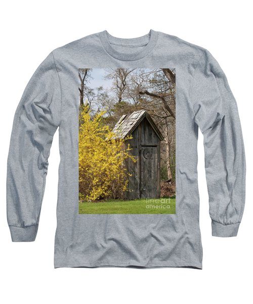 Outdoor Plumbing Long Sleeve T-Shirt