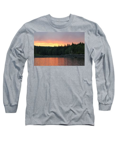Outdoors In Norway.  Long Sleeve T-Shirt