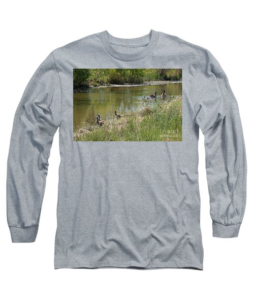 Outing With The Goslings Long Sleeve T-Shirt