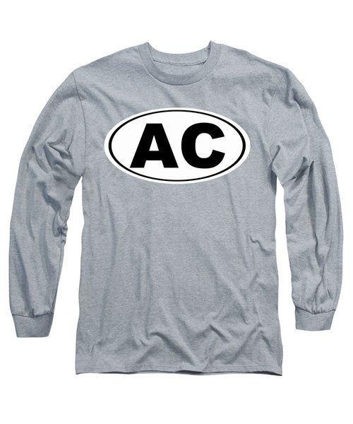 Oval Ac Atlantic City New Jersey Home Pride Long Sleeve T-Shirt