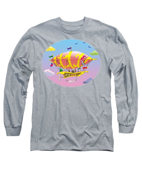 Dreamship II Long Sleeve T-Shirt by J L Meadows