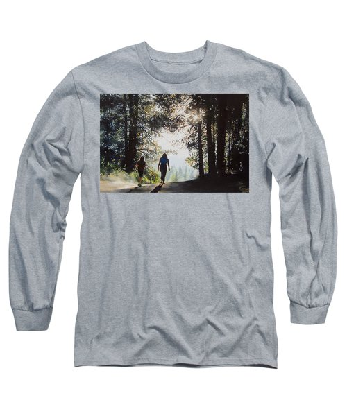 Over The Hills Long Sleeve T-Shirt