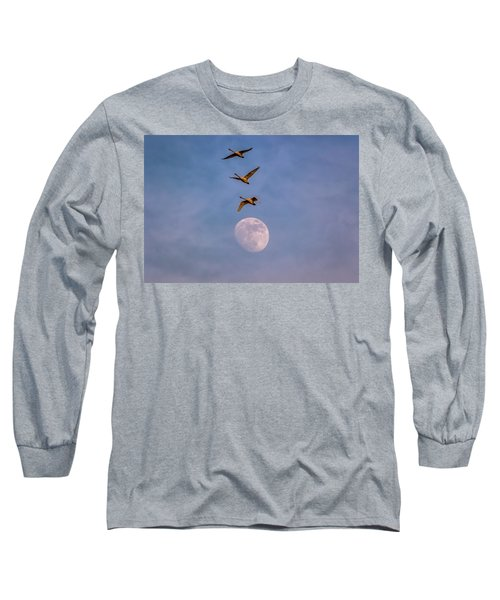 Over The Moon Long Sleeve T-Shirt
