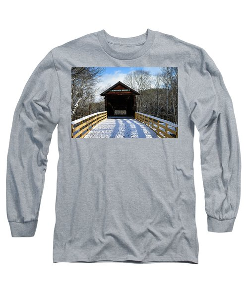 Over The River And Through The Bridge Long Sleeve T-Shirt