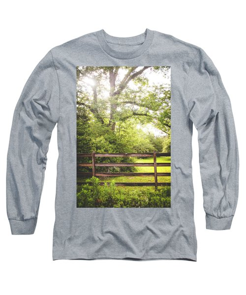 Long Sleeve T-Shirt featuring the photograph Overgrown by Shelby Young