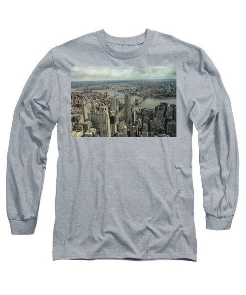 Overlooking Manhattan's East River  Long Sleeve T-Shirt