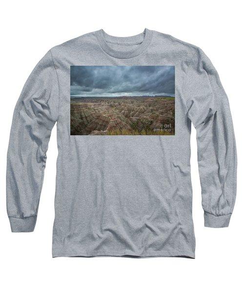 Overlooking The Badlands Long Sleeve T-Shirt