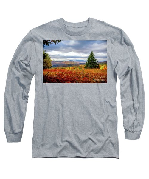 Overlooking The Foothills Long Sleeve T-Shirt