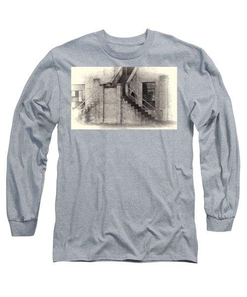 Owens Field Historic Curtiss-wright Hangar Long Sleeve T-Shirt