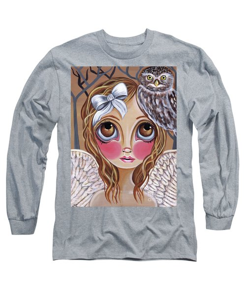 Owl Angel Long Sleeve T-Shirt