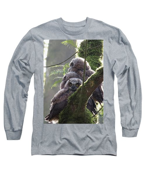 Owl Morning Long Sleeve T-Shirt