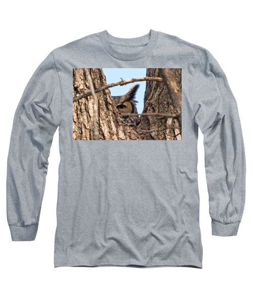 Owl Peek Long Sleeve T-Shirt