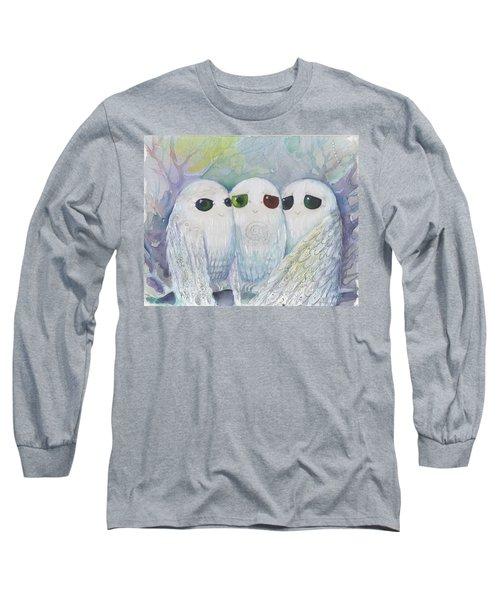 Owls From Dream Long Sleeve T-Shirt