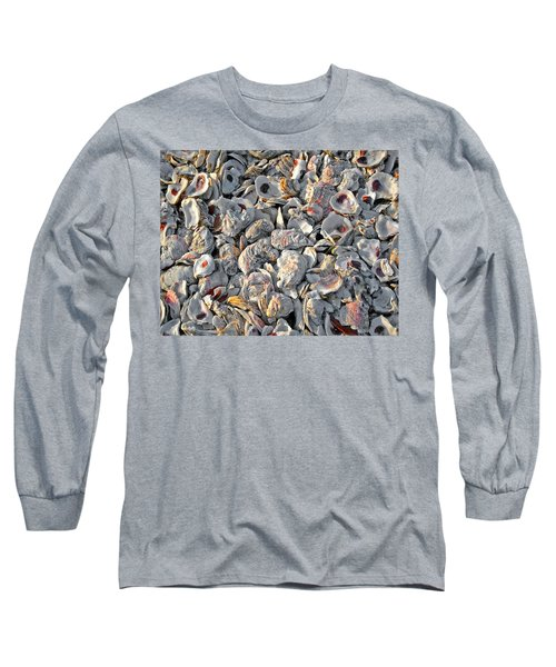 Oysters Shells Long Sleeve T-Shirt