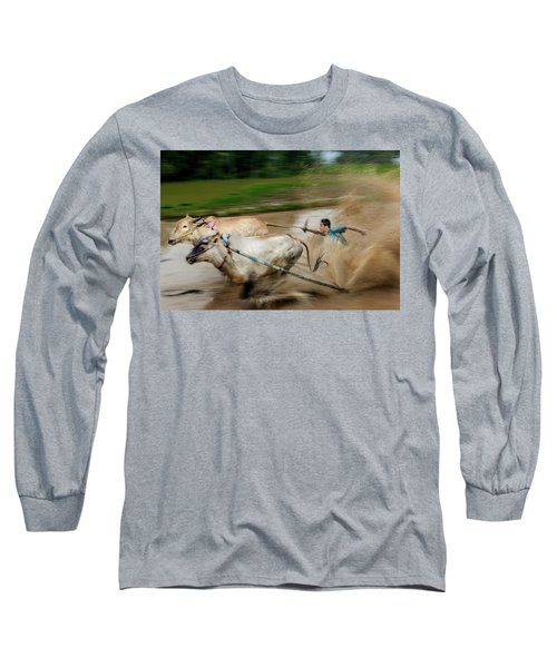 Pacu Jawi Bull Race Festival Long Sleeve T-Shirt