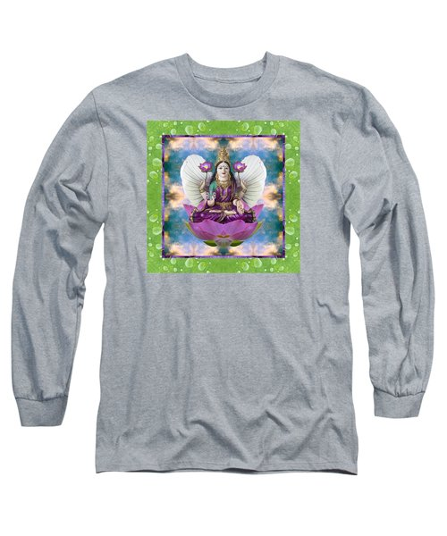 Long Sleeve T-Shirt featuring the photograph Padma Lotus by Bell And Todd